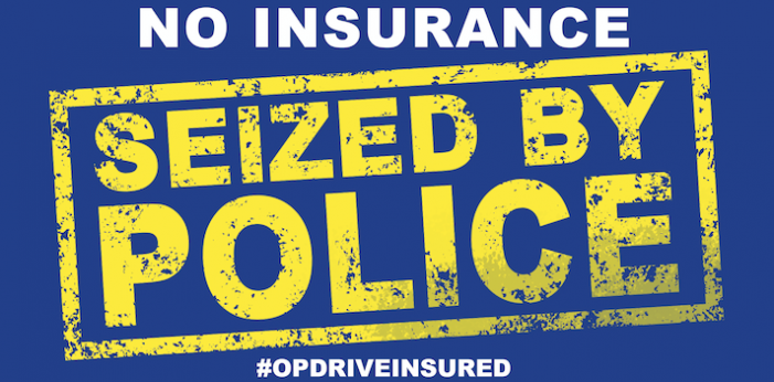 Police launch national campaign to protect road users from uninsured drivers