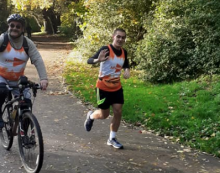 Harlow's Harry completes half marathon for charity