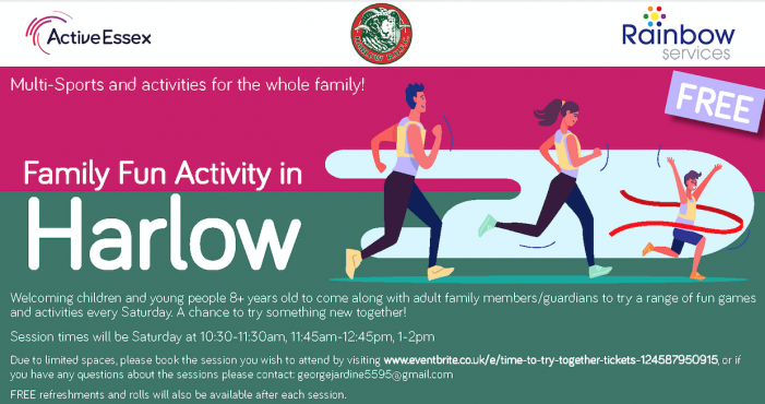 Family Fun Activity in Harlow