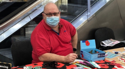 Poppy appeal at the Harvey Centre