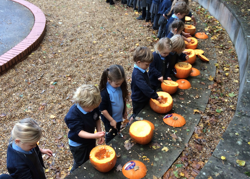 Halloween not cancelled at Roydon Primary Academy.