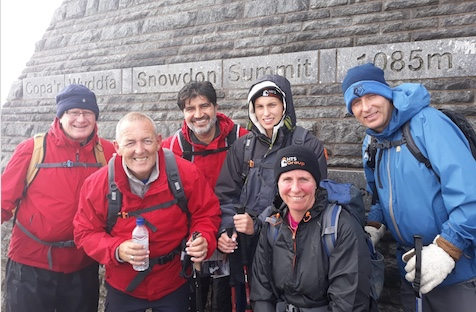 HTS team conquer Three Peaks Challenge and raise over £5,000 for St Clare Hospice