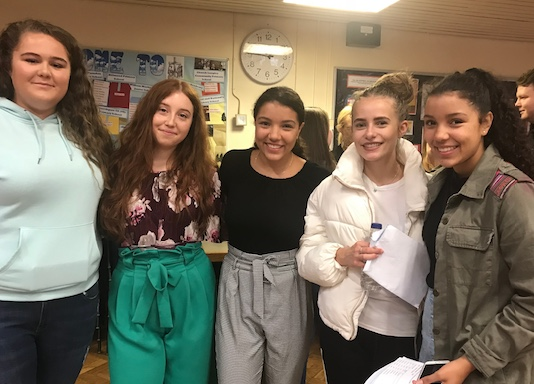 St Marks West Essex Catholic School celebrates A Level success