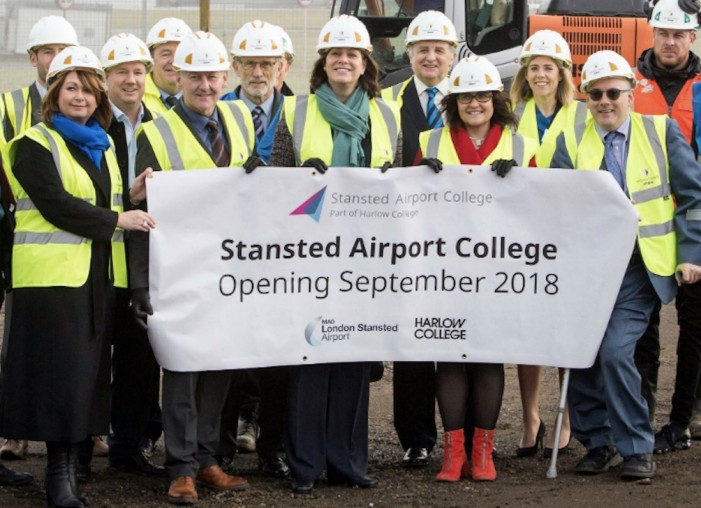 Harlow College fly high with new partnership in Stansted Airport