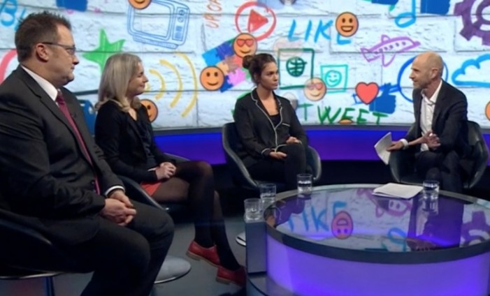 Passmores Head Vic Goddard discusses social media on Newsnight